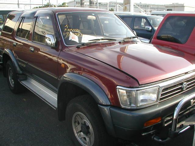 Toyota Hilux Surf 5DR (LHD) car