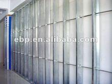 metal house insulation basement studs