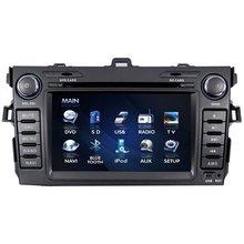 Digital Screen touchscreen TFT Car DVD Player for Toyota Corola