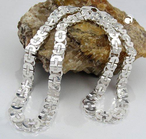 byzantine chain, silver Jewelry 925 - 32,6g - 130074-50