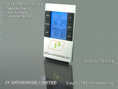 View Product Details: Digital Weather Station Clock