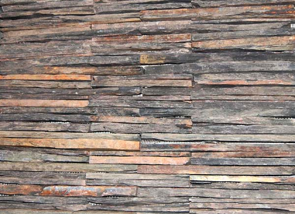 stacked slate tiles wall cladding colors manufacturer