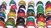 WHOLESALE LOT 1000 HANDMADE COLORFUL COCONUT RINGS PERU