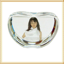 Fruit Photo Crystal Apple Ornament For Girl Gifts