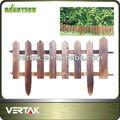 enrejado de madera para el jardín