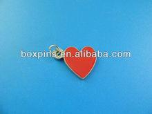 red heart key chain/keyring