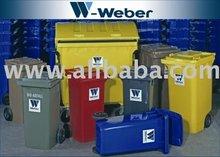 wheeled bins Weber