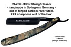 RAZOLUTION Deep Forest razor