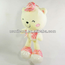 2013 new design plush smiling cute cat for hanging in cars