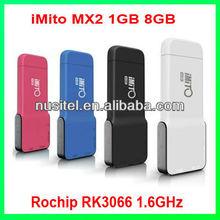 Android 4.1.1 1G 8G HDMI RK3066 Dual core Bluetooth iMito MX2 Google TV Box,smart tv box