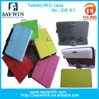 "Hot selling tablet covers cases for tablet pc MID colorful PU Leather Material 7""/8""/9""/9.7""10.1"""