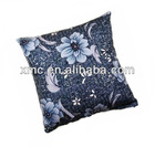 Anti-dust Washable Canvas Woven Color Printed Pillow Shell