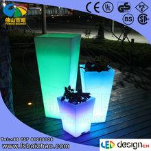 illuminated outdoor furniture/LED pots/LED lighted furniture