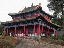verde tegole per restauro antico templi buddisti