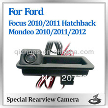 Color HD handle rear view camera for Ford Focus hatchback 2010 2011 and Mondeo 2010 2011 2012
