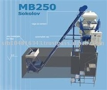 MB 250 Sokolov concrete mixer