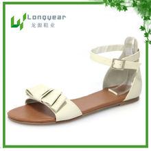 Latest design ladies fashion flat sandals models 2013