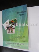 glossy photo paper