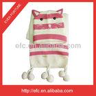 Kids 100 Acrylic Animal Hat and Scarf Set Knitting Patterns