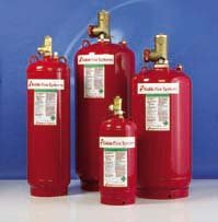 KIDDE FM-200 Fire Suppression Systems