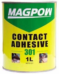 Yellow leather glue