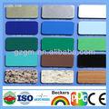 قوانغتشو مواد الديكور الحائط الساتر الالومنيوم لوحات من البلاستيك الفضة المطلية
