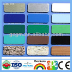 Guangzhou curtain wall decoration material silver coated aluminum plastic plates