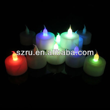 wedding centerpieces deco mini battery operated led candle light