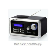 BC-630DA (2013 Hot Sales) Portable Personal DAB FM Digital Audio Broadcasting Radio-With USB Connect