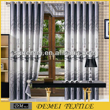 brand window print blackout curtain