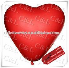 Heart shaped balloon Flashing Led Light Balloon