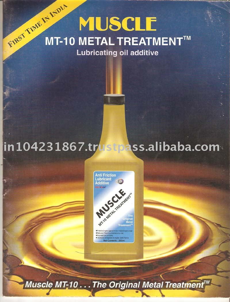 Muscle MT-10 Anti frictional Oil Additive