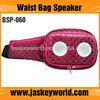 Promotion waist bag portable audio speaker