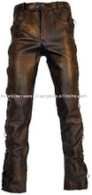 BS- 1508 Leather laces Trousers