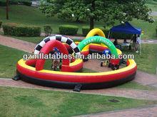 (Qi Ling) giant inflatable trike racing