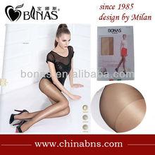 nylon pantyhose made of 90%nylon10%spandex