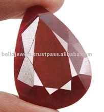 Pear Shape PRECIOUS Natural RUBY Gemstone