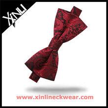 New Silk Clip on Bow Tie