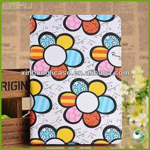 New cute solar flower case for apple mini ipad case