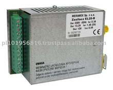 EL-25B POWER SUPPLY TO COOPERATE WITH A BATTERY BANK