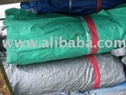 Used PVC Canvas tarpaulins