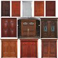 نماذج من الأبواب الخشبية للخارجية