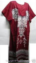 NWT Vtg Dashiki Tunic Dress BOHO Hippie flower 3X 4X