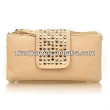 2013 Fashion Casual Retro Rivet Wallet/Purses (BHX027)