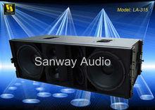 "LA-315 Dual 15"" Line Array Audio Sale"