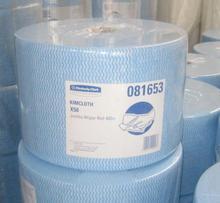 Spunlace nonwoven fabric (Print Wave type)