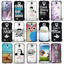 New Cool Designs Rubberized Hard Case Phone Cover For Samsung Galaxy S4 SIV i9500