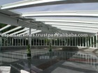 Moveable Aluminum & Glass Roof