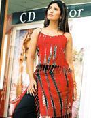 Dress Batik (Red)