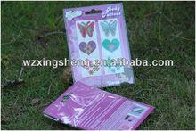 2013 Wholesale fashion promotion pvc sticker Packaging Label 3d laser hologram sticker